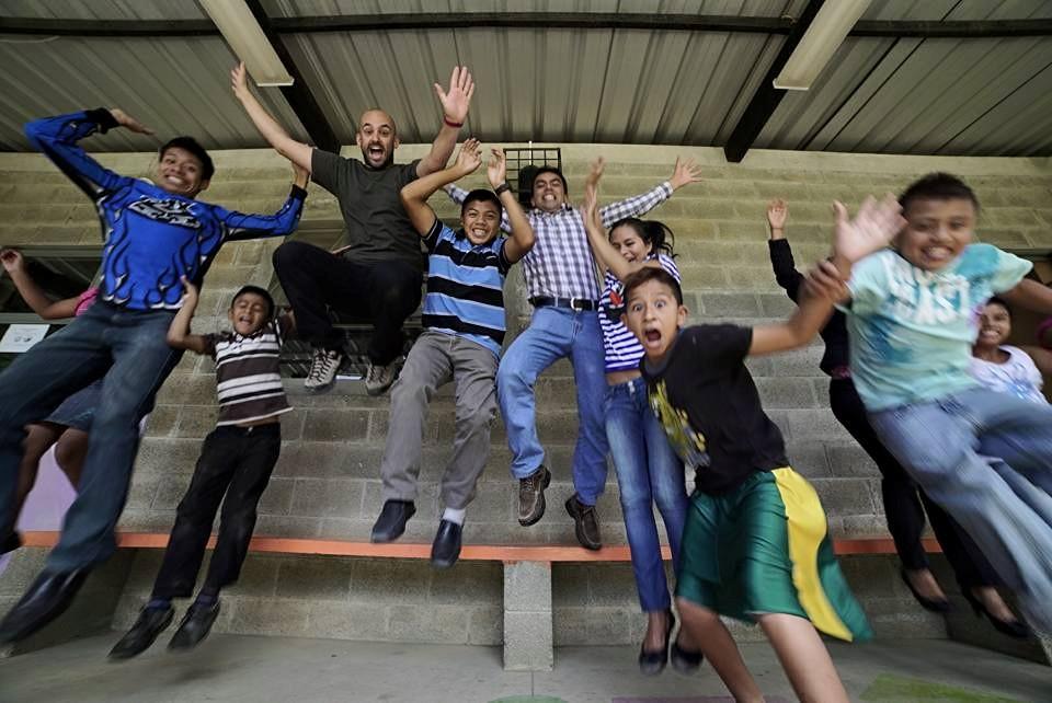Comunidad de la Esperanza es un lugar para la alegría.